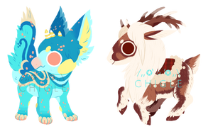 [C] Minnow and Mailyn minis by Chigle
