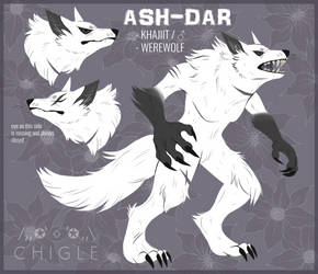 [ESO] Ash-Dar werewolf ref by Chigle