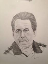 Nick Saban by Rcartier64