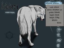 Wolfszeit-Kiara by realWolfshade