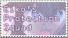 Eiko's protecc squad stamp by Sugarsaturn