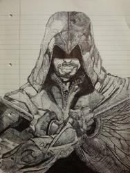 Ezio by FanArtistHoops