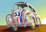 Herbie the Love Bug by sketchiegambit