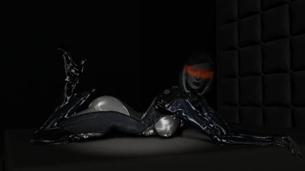 Mass Effect - Latex EDI by Hellraiser-89
