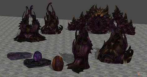 Starcraft Zerg misc for XPS by Hellraiser-89