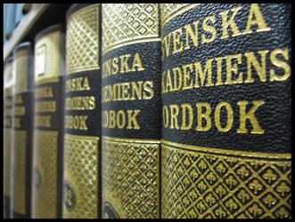 Svenska Akademiens ordbok by droemmaskin