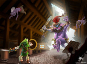 Hero of Time Project: Link VS Chief  Begotra by deventhorizon