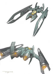 Concept Art Oldies-Spaceships3 by dannlord