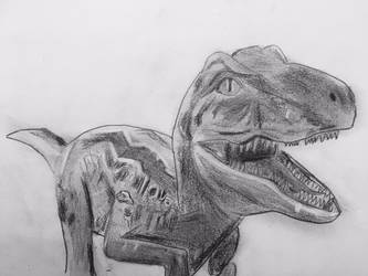 Blue from Jurassic World by CaptainEdwardTeague