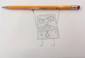Frankendoodle/DoodleBob by CaptainEdwardTeague