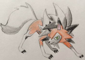 Lycanroc Dusk Form by CaptainEdwardTeague