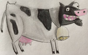 The Recurring Cow from Courage the Cowardly Dog by CaptainEdwardTeague