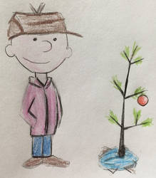 Charlie Brown and his Christmas Tree by CaptainEdwardTeague