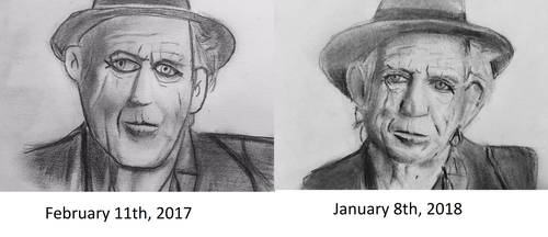 Keith Richards Before and After by CaptainEdwardTeague