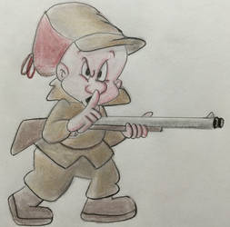 Elmer Fudd Hunting by CaptainEdwardTeague