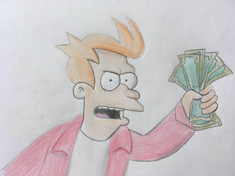 Fry from Futurama by CaptainEdwardTeague