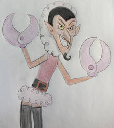 Him from The Powerpuff Girls by CaptainEdwardTeague