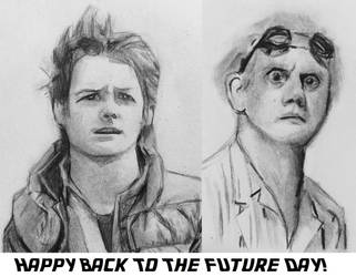 Happy Back to the Future Day! by CaptainEdwardTeague