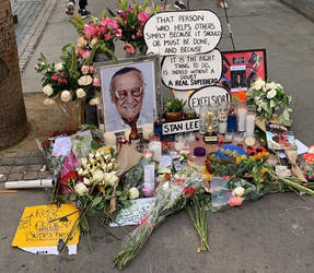 Stan Lee Memorial by CaptainEdwardTeague