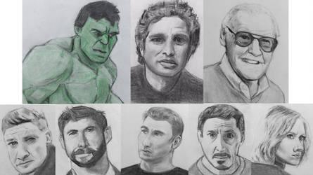 The Avengers by CaptainEdwardTeague