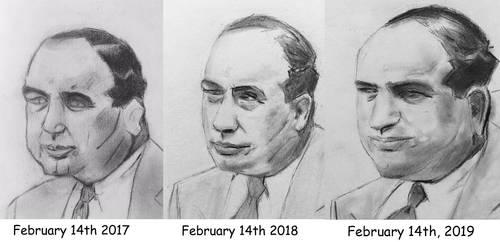 Al Capone Progress by CaptainEdwardTeague