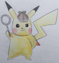 Detective Pikachu by CaptainEdwardTeague