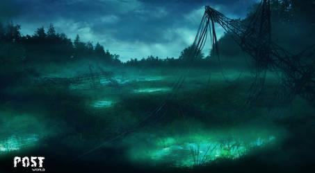 radioactive swamp by lefilsdesetoiles
