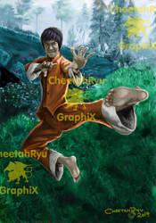 Bruce-Lee by CheetahRyu