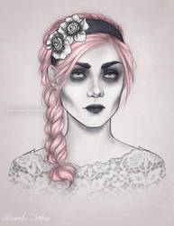 Dark Lady Sofia by ribkaDory