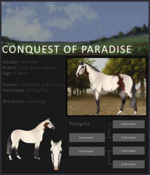 Conquest Of Paradise by Anonymous-Shrew