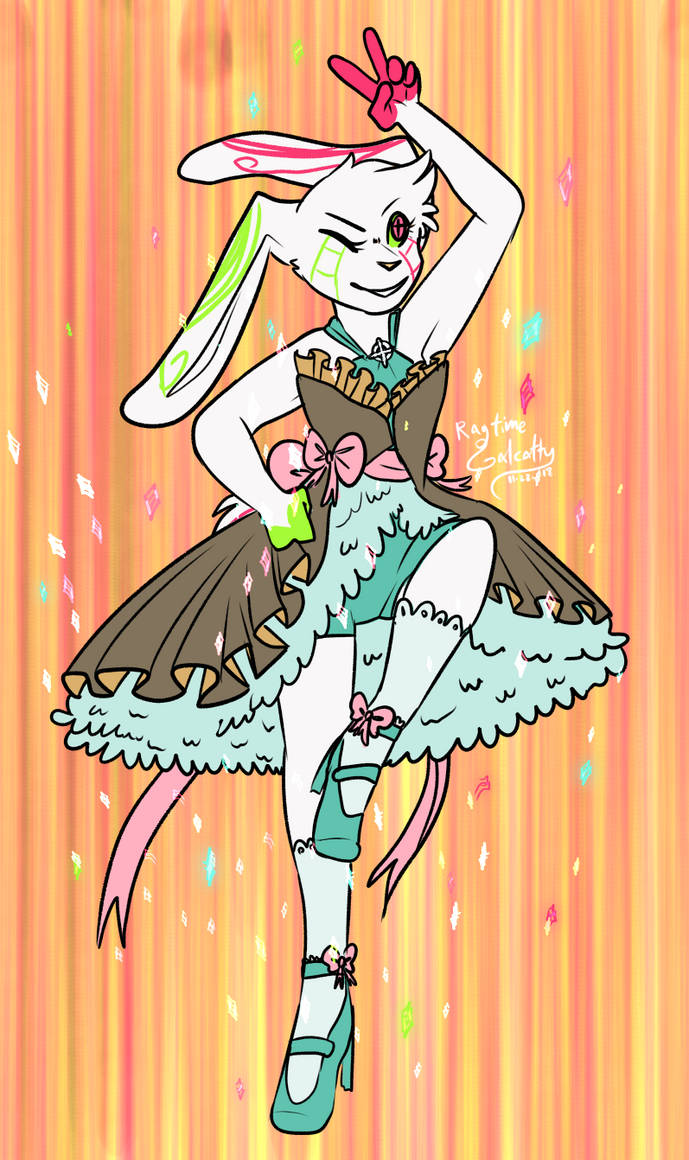Magical Girl Tourmaline by DaBlueNinjaz