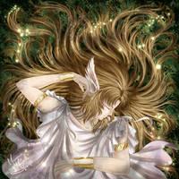 Golden God Hypnos by MurrueMioria