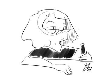 sketch self by mamdragon