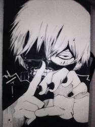 Kaneki Ken by DarkLadyMony