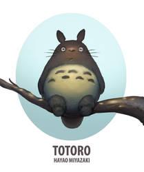 TOTORO by Rats-in-the-van