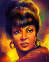 52 Portraits #13: Uhura by rflaum