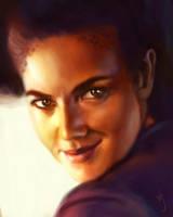 52 Portraits #25: Jadzia Dax by rflaum