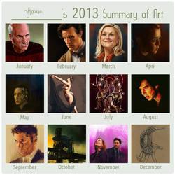2013 Summary of Art by rflaum