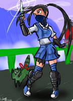 Ibuki stf 5 by Darkiganv