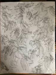 so many dragons, wow by DragonNadder