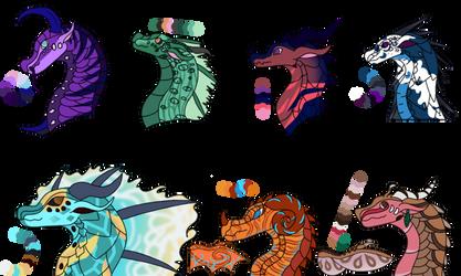 Gacha Set 2 by DragonNadder