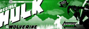 Retro-Vector-Hulk v2.0 by joshjiggler