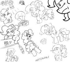 Wall of Pinkie Pie by MAST3RLINKX