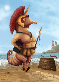 THU-Gladiator Seahorse by j-am