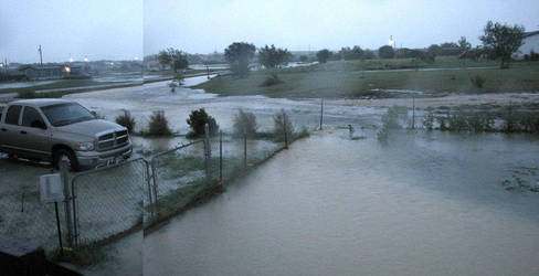 Flooding - my house by poestokergorey