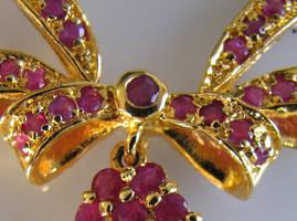 Rubies in Gold by poestokergorey