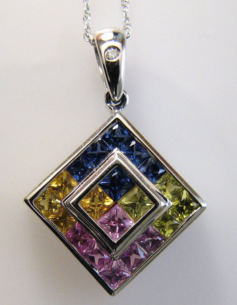 Multi-color sapphires by poestokergorey