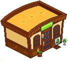 ACNL: The Roost Cafe Isometric by LilMissSunBear