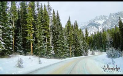 Canadian Rockies by Janjua
