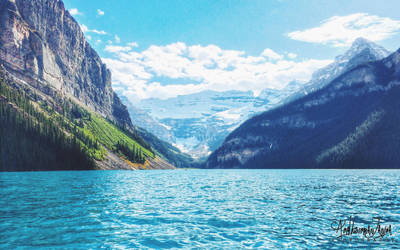 Lake Louise by Janjua